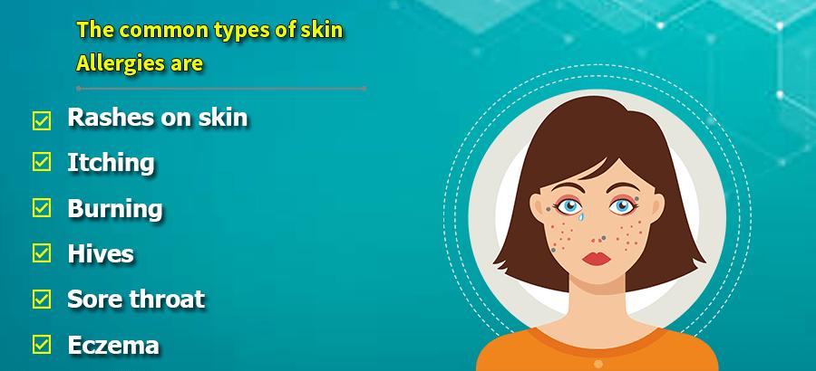 Types of Skin Allergies
