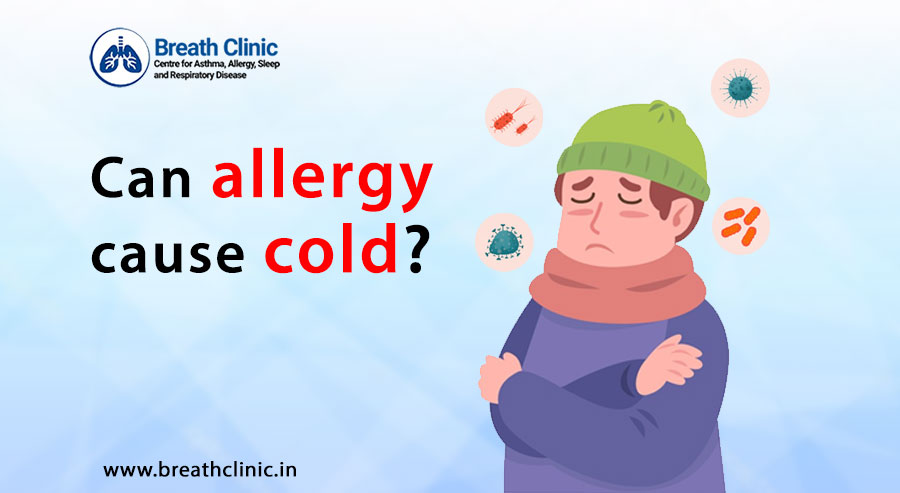 Can allergy cause cold?